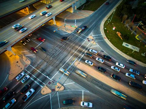 Intersection crash